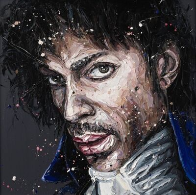 Paul Oz, 'Purple Rain (Prince)', 2015