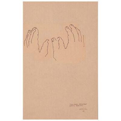 Eduardo Chillida, 'Hommage à Jose Angel Iribar', 1980