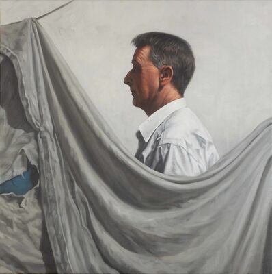Graeme Wilcox, 'Figure with drape', 2019