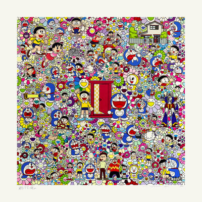Takashi Murakami, 'A Sketch of Anywhere Door - Dokodemo Door - and an Excellent Day', 2020