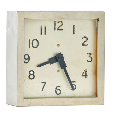 Thomas Mercer Ltd., 'Art Deco clock from the RMS Caronia', ca. 1930