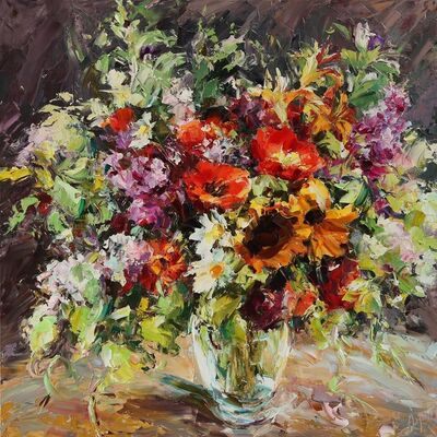 Lyudmila Agrich, 'Summer Bouquet', 2018