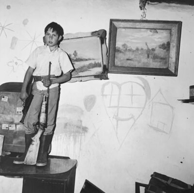 Roger Ballen, 'Boy with Guns, Western Transvaal', 1993