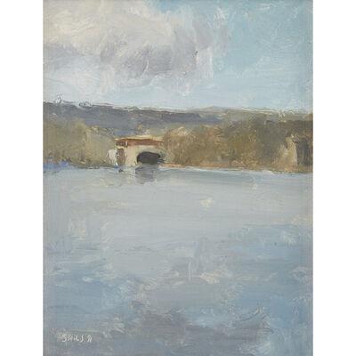 Stuart Shils, 'Schuylkill River with Bridge'
