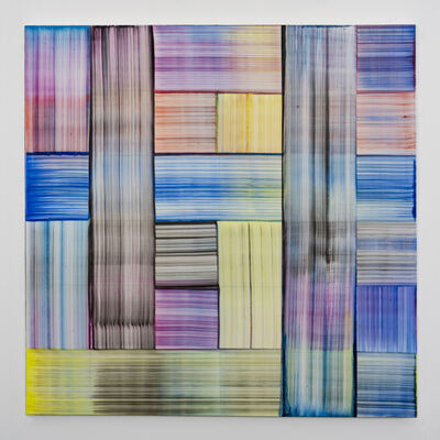 Bernard Frize, 'Zeul', 2019
