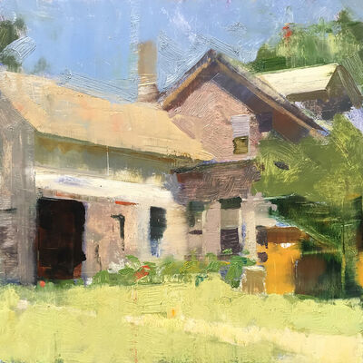 Jon Redmond, 'Farmhouse 2', 2019