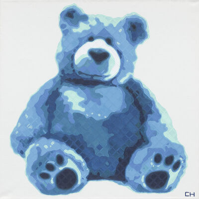 Charlie Hanavich, 'Teddy in Blue', 2019