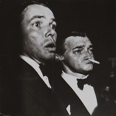 Weegee, 'Clark Gable', years 1950
