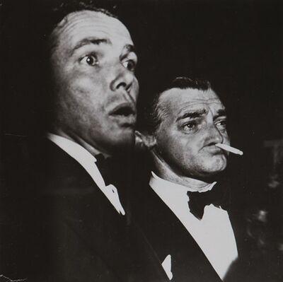 Weegee, 'Clark Gable', years 1950