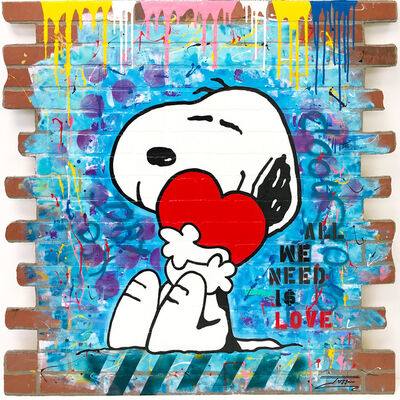 JOZZA, 'ALL WE NEED IS LOVE (SNOOPY)', 2018