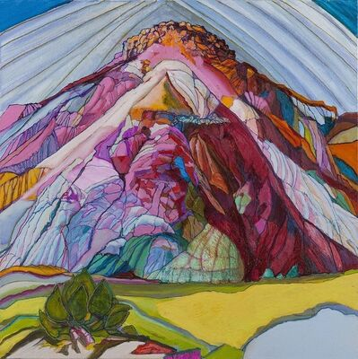 Carol Beesley, 'Lone Mountains', 2017