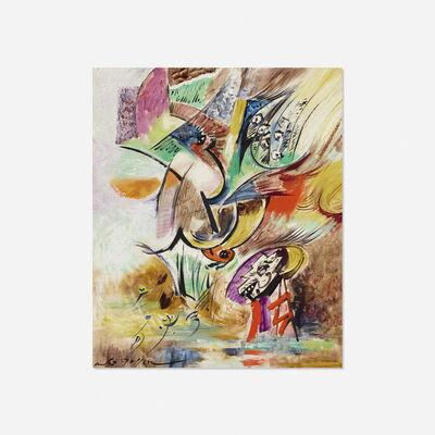 André Masson, 'Lieu Totemique', 1968