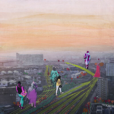 Joana Choumali, 'This way (Série Abahian)', 2018