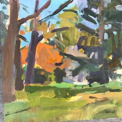 Kathy Good, 'Roger Williams Park, Late Fall', 2017
