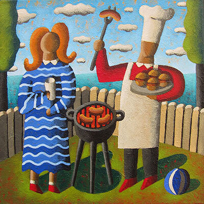 Jordi Pintó, 'The barbecue'