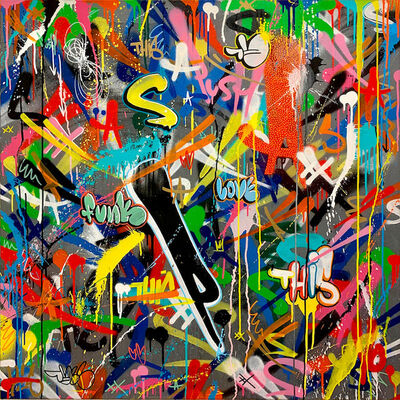 Martin Whatson, 'Scribble (P-funk)', 2020