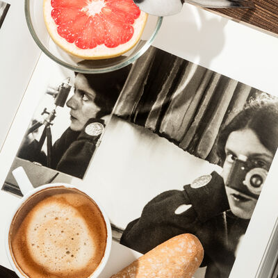 Anastasia Samoylova, 'Breakfast with Ilse Bing, 1931', 2018