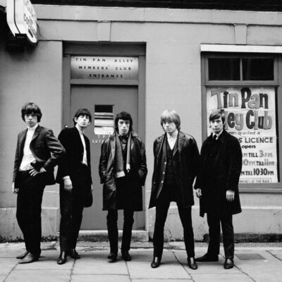 Terry O'Neill, 'The Rolling Stones, Tin Pan Alley', 1963