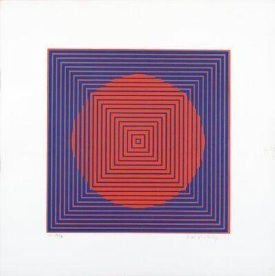 Victor Vasarely, 'Beta rouge bleu'