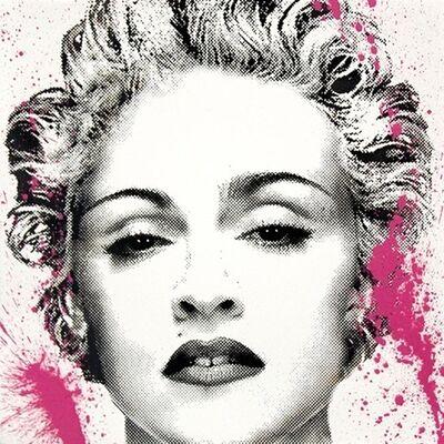 Mr. Brainwash, 'Happy B-Day Madonna ', 2017