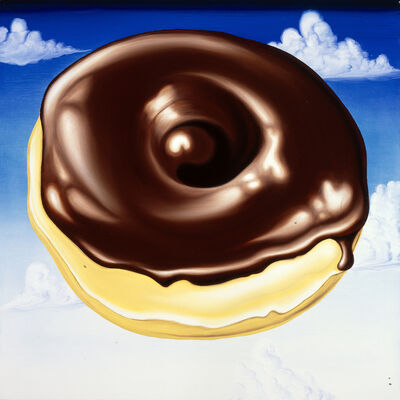 Kenny Scharf, 'Chocolate Glazed N' Puffy Clouds', 2008