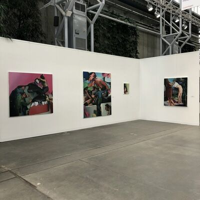 The Rooster Gallery at CODE Art Fair 2018, installation view