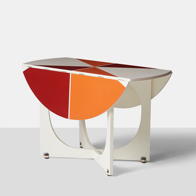 "Gio Ponti, '""Apta"" Drop Leaf Table', 1970-1979"
