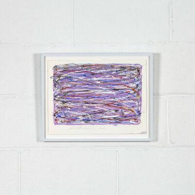 Dan Christensen, 'Violet Loops', 2003