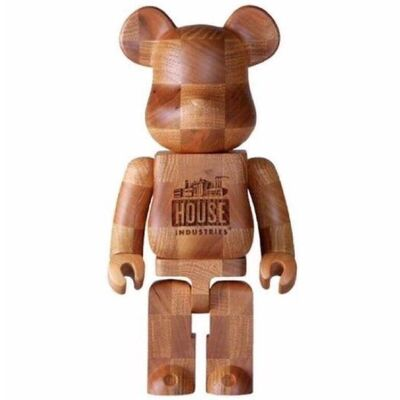 "BE@RBRICK, 'Be@rbrick KARIMOKU ""HOUSE INDUSTRIES CHESS"" 400%, 2017', 2017"