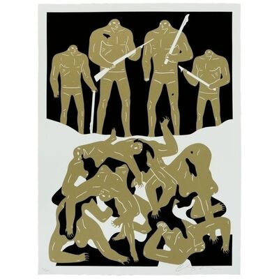 Cleon Peterson, 'The Genocide (White)', 2016