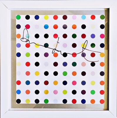 Damien Hirst, 'Spots (Hand Signed)', ca. 2012