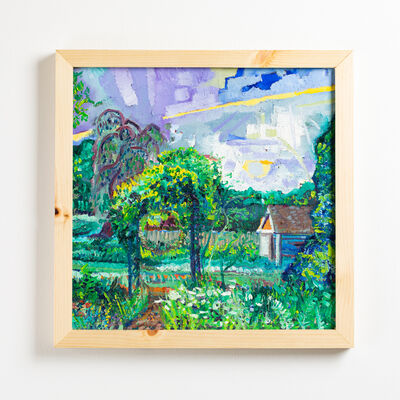 Charlie Hudson, 'Purple Sky From Garden Patio', 2020