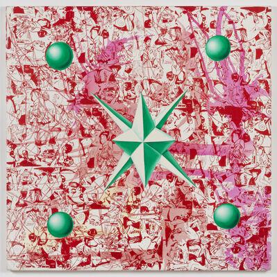 Kenny Scharf, 'Starballing', 1993