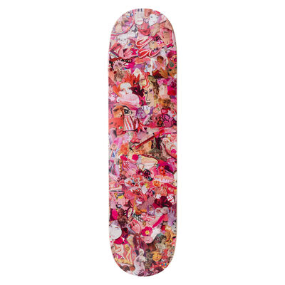 Vik Muniz, 'Eight Color Spectrum Pink Skateboard Deck', 2019