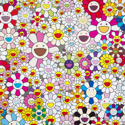 Takashi Murakami, 'Flowers Blooming In The World And The Land Of Nirvana', 2013
