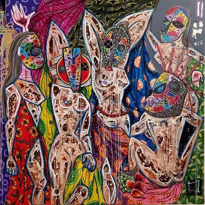 Mederic Turay, 'Les demoiselles d'Abidjan', 2018