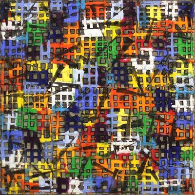 Petra Rös-Nickel, 'Color Block 15/12', 2016