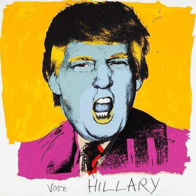 Deborah Kass, 'Vote Hilary', 2016