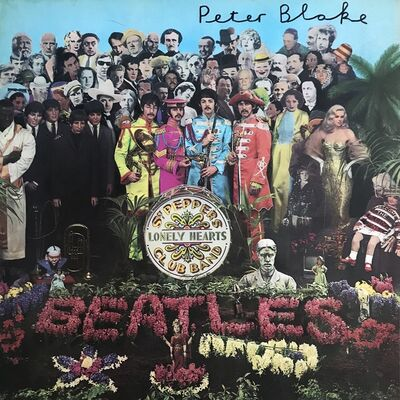 Peter Blake, 'Sgt. Pepper LP', 1967