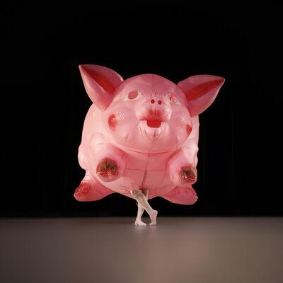 Jeff Koons, 'Inflatable Pig Costume', 1988-1989