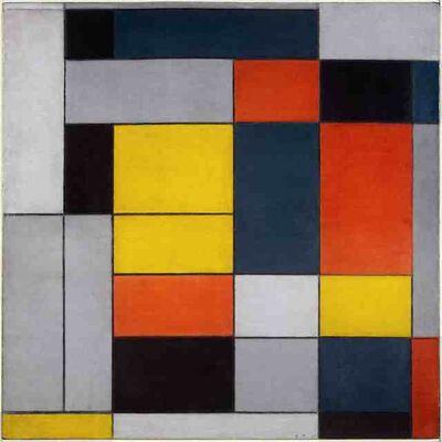 Piet Mondrian, 'No. VI / Composition No. II', 1920