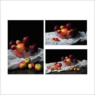Dora Franco, 'Apples I, II and III. Triptych.', 2015