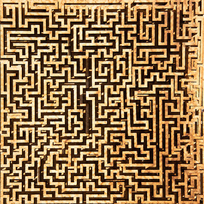 Jared Tarbell, 'UNFINISHED MAZE', 2019