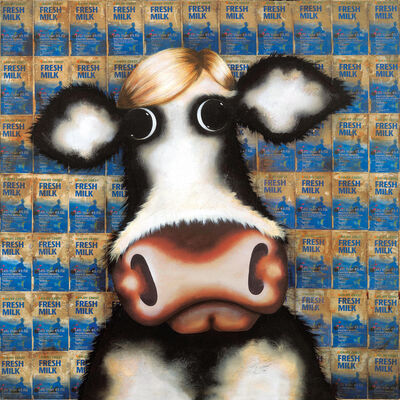Caroline Shotton, 'Milk Cartons - Homage To Warhol', 2010