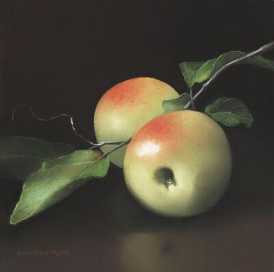 Robin Frisella, 'Green Apples On A Vine', 2019