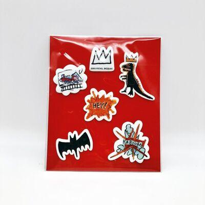 Jean-Michel Basquiat, 'Sticker Set', 2019
