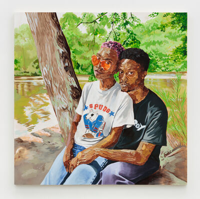 Gerald Lovell, 'Kiante and Charletta', 2019
