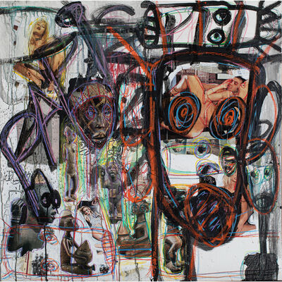 Aboudia Abdoulaye Diarrassouba, 'Untitled', 2013