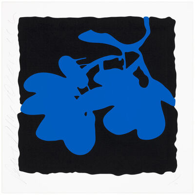 Donald Sultan, '(Blue) May 10', 2012