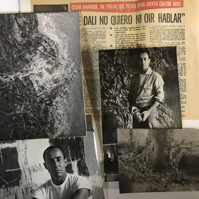César Manrique, 'Photographic and documentary set', 1958-1970